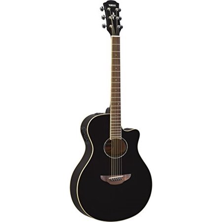 yamaha apx600 bl thin body acoustic-electric guitar, (Best Vintage Yamaha Acoustic Guitars)