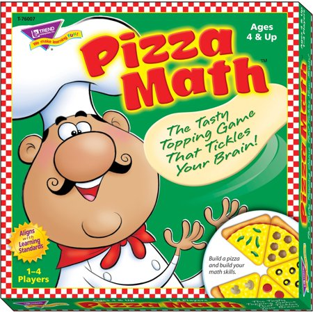 Trend, TEPT76007, Pizza Math Learning Game, 1 Each, Multi
