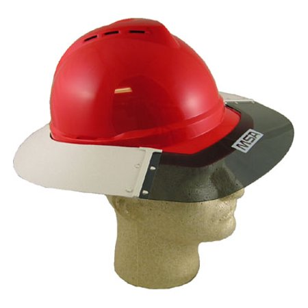 MSA Advance Hard Hat Sun - Hard Hats Shield