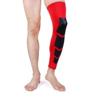 Extreme Fit Unisex Full-Length Knee and Calf Compression Sleeves (2-Pack)