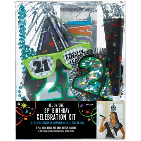 21st Birthday Accessory Kit - Party Supplies - 21st Halloween Birthday