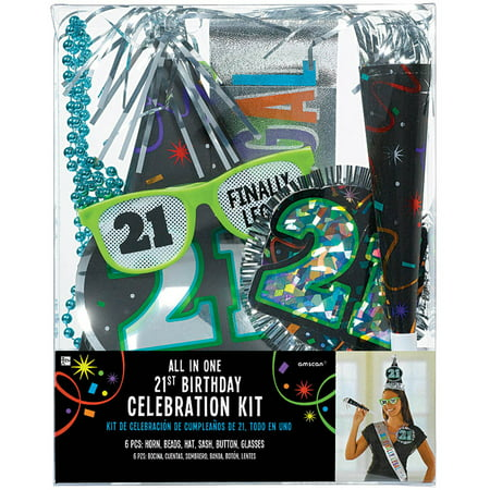 21st Birthday Accessory Kit - Party Supplies (21st Halloween Birthday Party)