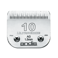 Andis UltraEdge Detachable Blade Set, Size 10, 1/16 Inches, 1.5 mm