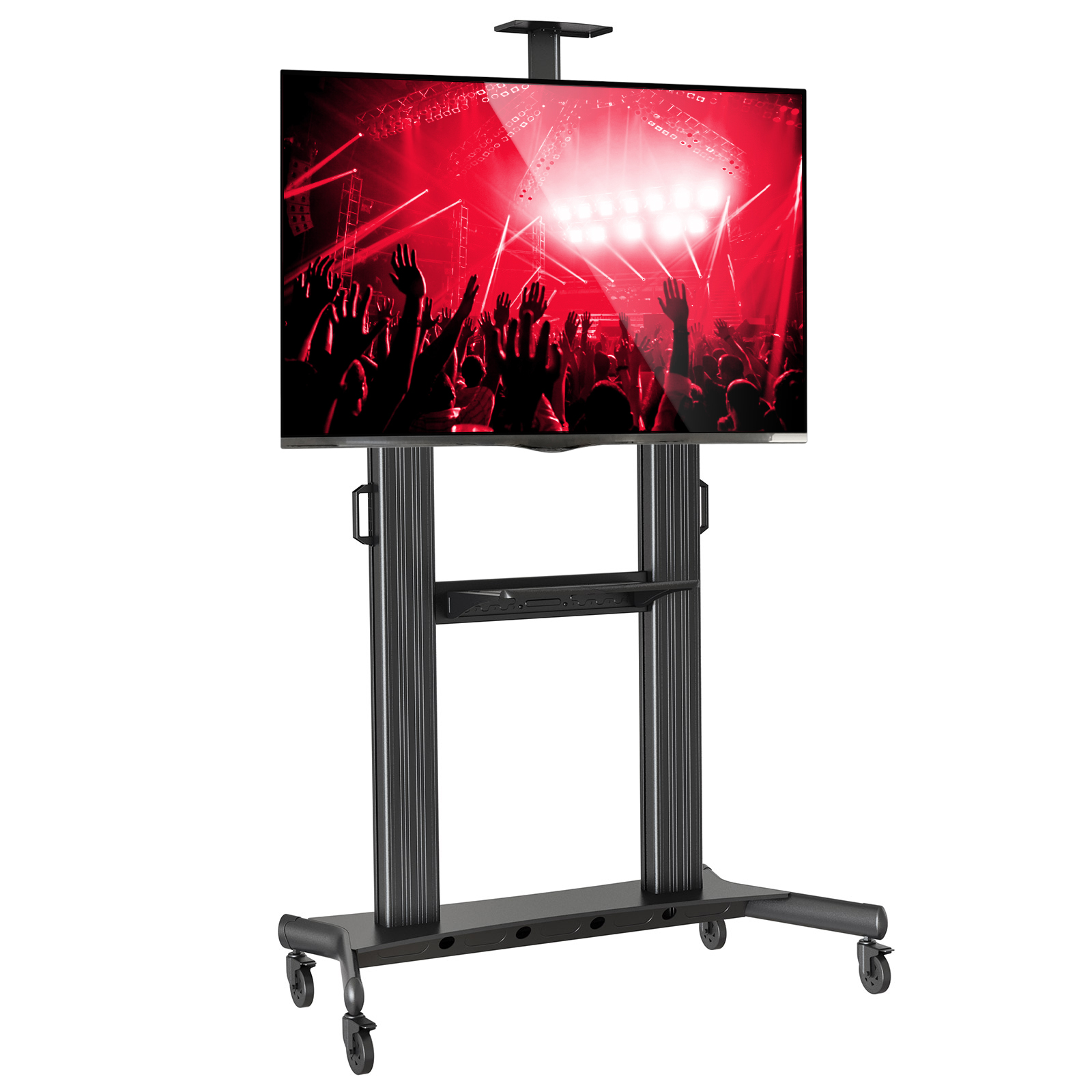 Mount Factory Rolling TV Stand Mobile TV Cart for 40-90 i...