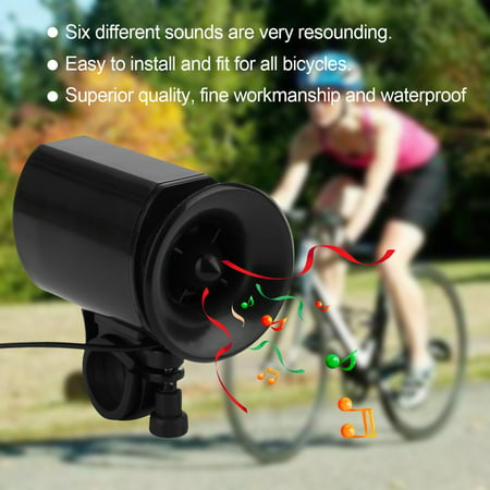 6 Sounds Ultra-loud Bicycle Bike Electronic Bell Horn Strong