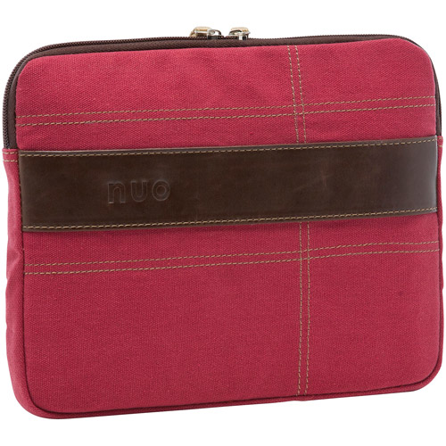 "Nuo Eco-Friendly Apple iPad/10"" Tablet Sleeve, Red"