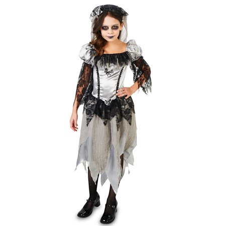 Haunted Princess Bride Child Costume - Bride Of Chucky Costume Kids