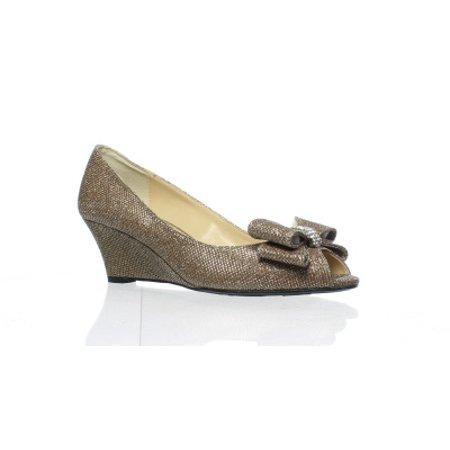 J Renee Peep Toe Heels (J. Renee Womens Blare Blush Peep Toe Heels Size 8.5 (AA,N))