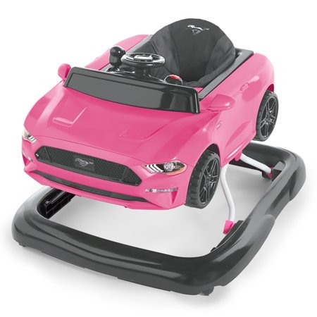 Bright Starts 3 Ways to Play Walker - Ford Mustang, Pink ()