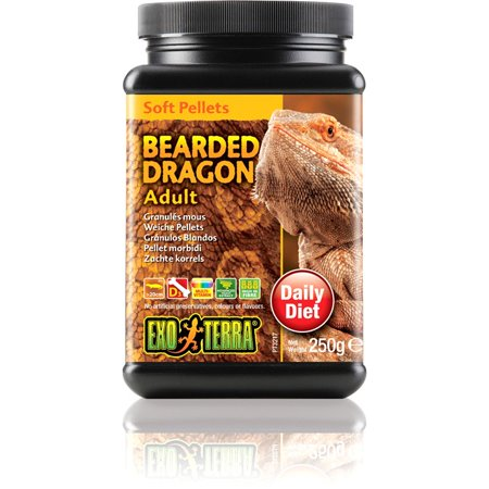 Exo Terra Soft Pellets, Bearded Dragon Ad 8.8oz