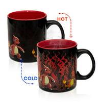 Pokemon Charmander Evolution Heat Change Mug
