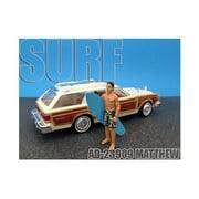 American Diorama 23909 Surfer Matthew Figure for 1-24 Diecast Model Cars