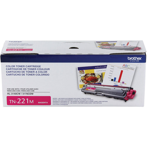 Brother TN221M Standard Yield Magenta Toner