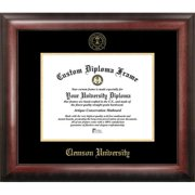 Clemson University Gold Embossed Diploma Frame