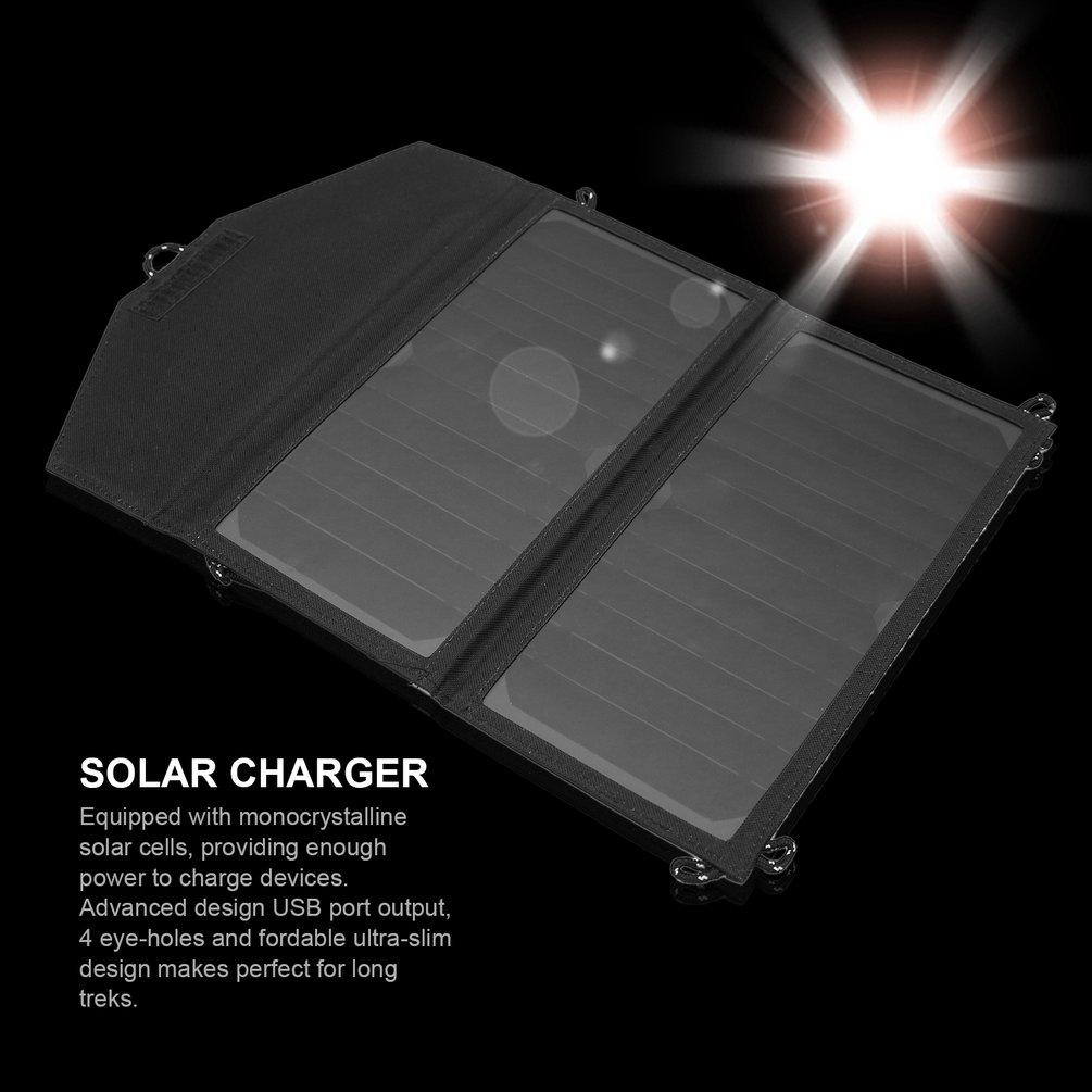 Hot Sale NEW 5V 2A 12W High Efficiency Portable Solar Pan...