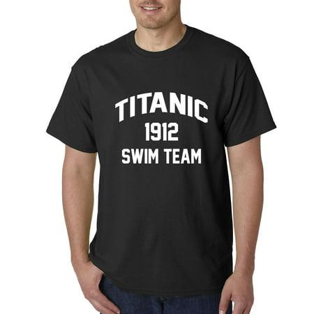 Titanic Swim Team 1912 Mens T-shirt