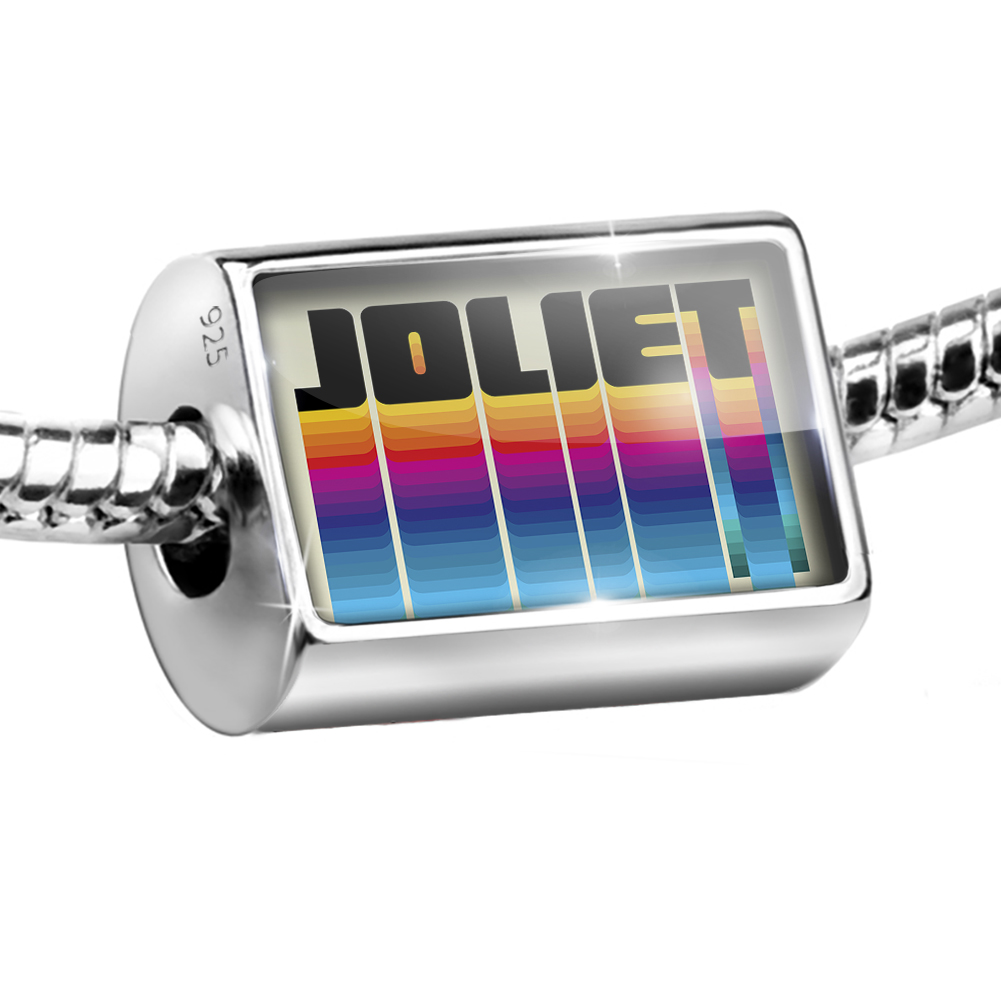Bead Retro Cites States Countries Joliet Charm Fits All European Bracelets