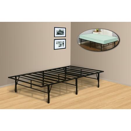 Pilaster Designs Platform Bed Frame Mattress Foundation