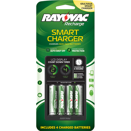 Rayovac Recharge Plus LCD Charger