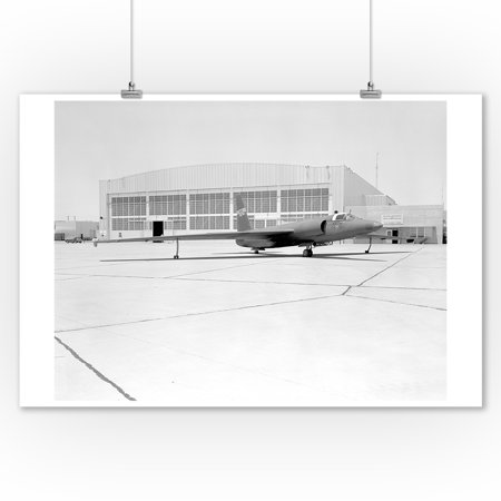 U-2 Spy Plane With Fictitious NASA Markings Photograph (9x12 Art Print, Wall Decor Travel Poster)
