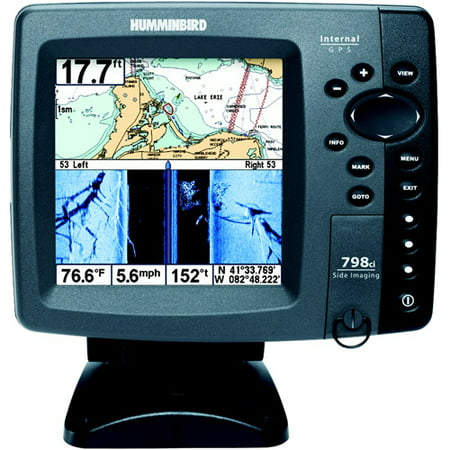 Humminbird 798c si color fishfinder w gps and side for Side imaging fish finder