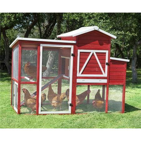 Red Barn Ranch Chicken Coop Walmartcom