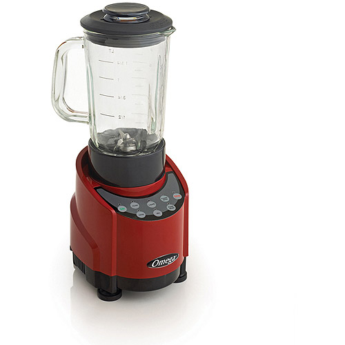 Omega SLK100GS 1-HP Blender with 48 oz Glass Container