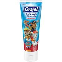 Orajel PAW Patrol Anticavity Fluoride Toothpaste- Bubble Berry Flavor- Kids Toothpaste 4.2oz Tube