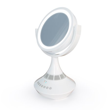 Atomi Bluetooth Double Sided Vanity Mirror With Led