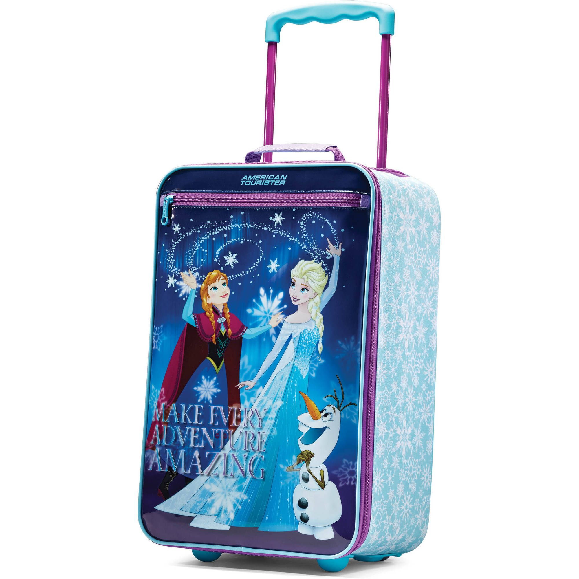 "American Tourister 18"" Disney Frozen Softside Upright Suitcase"