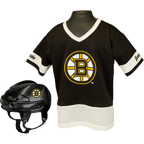 Franklin Sports NHL Kid's Team Set, Boston Bruins