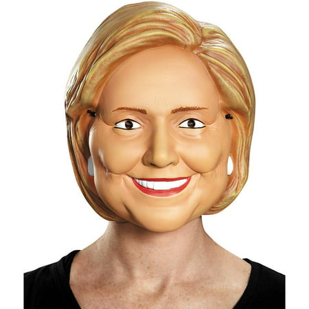 Hillary Clinton 1/2 Mask Adult Halloween Accessory