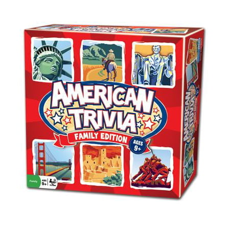 American Trivia Game - Best Trivia Board Games