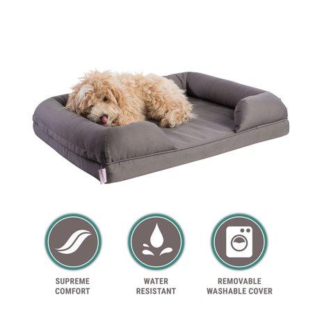 Orthopedic Pet Sofa Bed Dog Cat Or Puppy Memory Foam Mattress