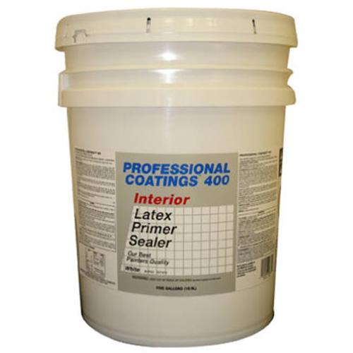 True Value Mfg Company ACP53-5G Professional Coatings Best, White Latex Primer, 5 Gallon