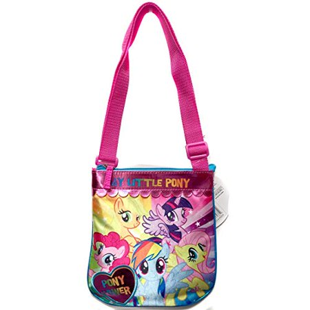 Hand Bag - My Little Pony - Pony Power Crossbody New 703810 - My Little Pony Party Tote Bag
