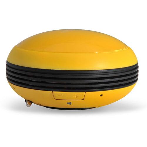 Microlab M102 Daisy-Chain Multi-Color Compact Mini Stereo Speaker, Yellow