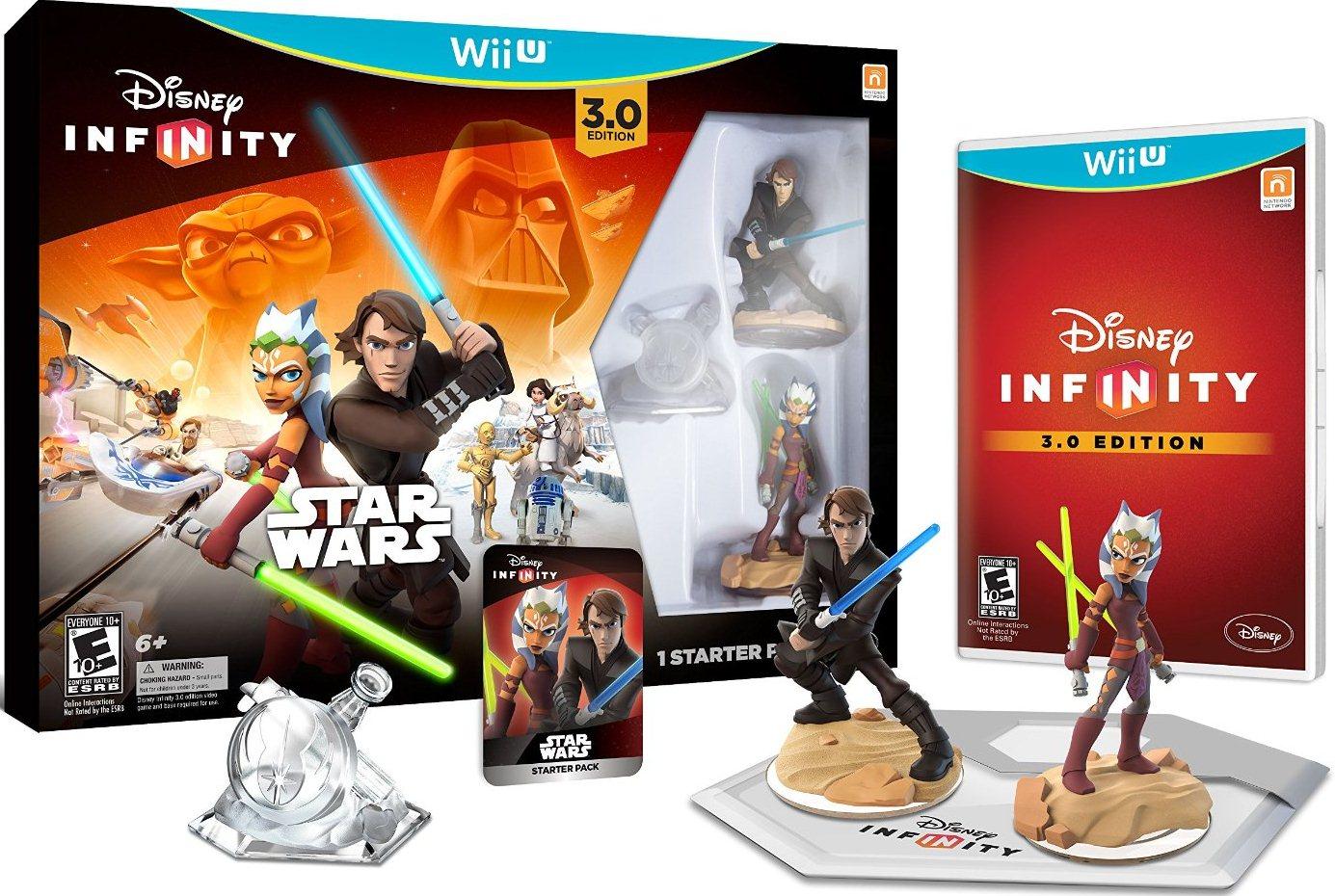 Disney Infinity 712725026745 3.0 Star Wars Gaming Figures Starter (Refurbished) by