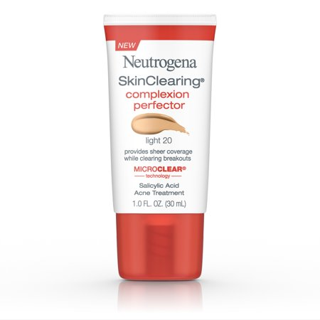 Neutrogena Skinclearing Complexion Perfector With Salicylic Acid, Light, 1 Fl. (Trish Mcevoy Treatment Foundation)