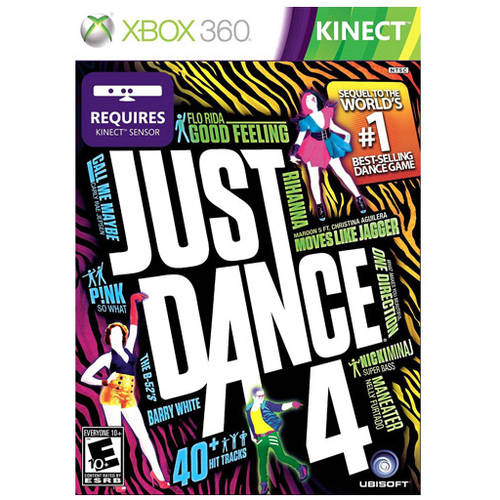 Just Dance 4 (Xbox 360) - Pre-Owned