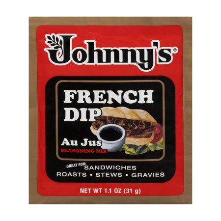 Johnnys French Dip Au Jus Seasoning Mix  1 1 Oz