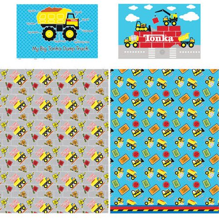 World Twin Hugger - Valuelink Tonka 'tonka World' Twin Sheet Set