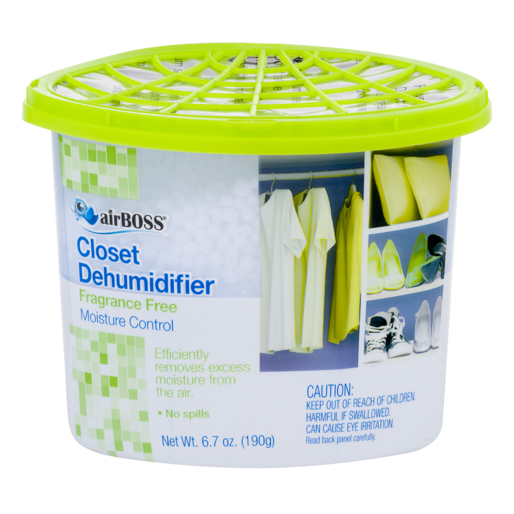 Airboss Closet Dehumidifier Fragrance Free 6 7 Oz Walmart Com