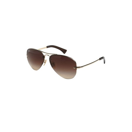 RB3449 59MM Semi-Rimless Aviator (Ray-ban Rb3136 Caravan Sunglasses)
