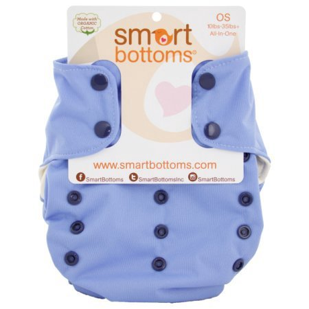 Smart Bottoms Smart 1 AIO Cloth Diaper (Superhero Electra)