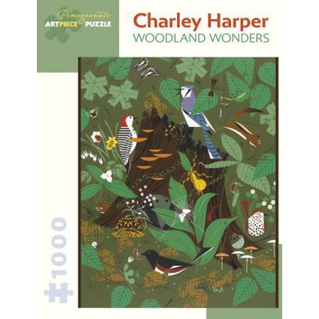 Charley Harper : Woodland Wonders 1,000-Piece Jigsaw Puzzle (Woodlands Halloween Games)