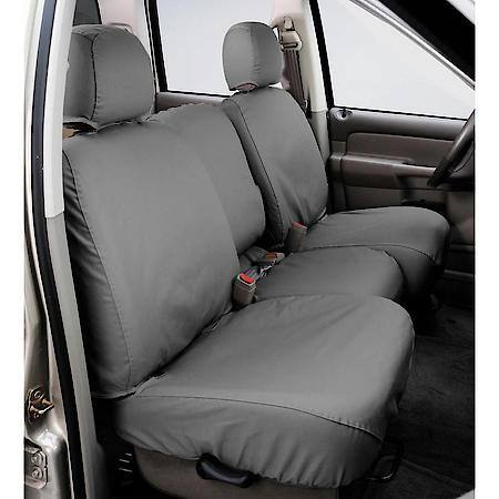SS2359PCGY Covercraft Seat Cover Seat Style AN - Solid Bench With