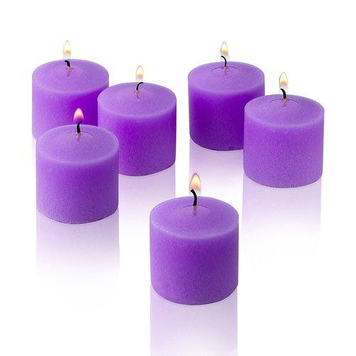 Light In the Dark Lavender Scented Votive Candles (Set of 72)