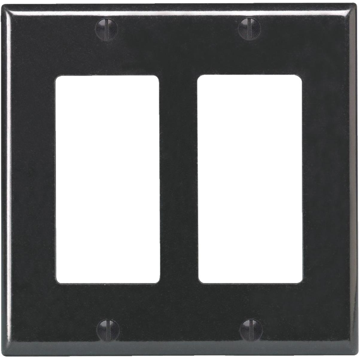 Leviton DECORA Double Rocker Decorator Wall Plate