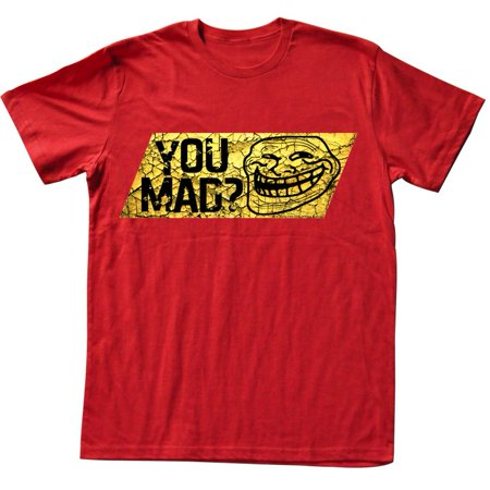 U Mad  You Mad Bro  Meme Gif Trending Caution Tape You Mad  Adult T Shirt